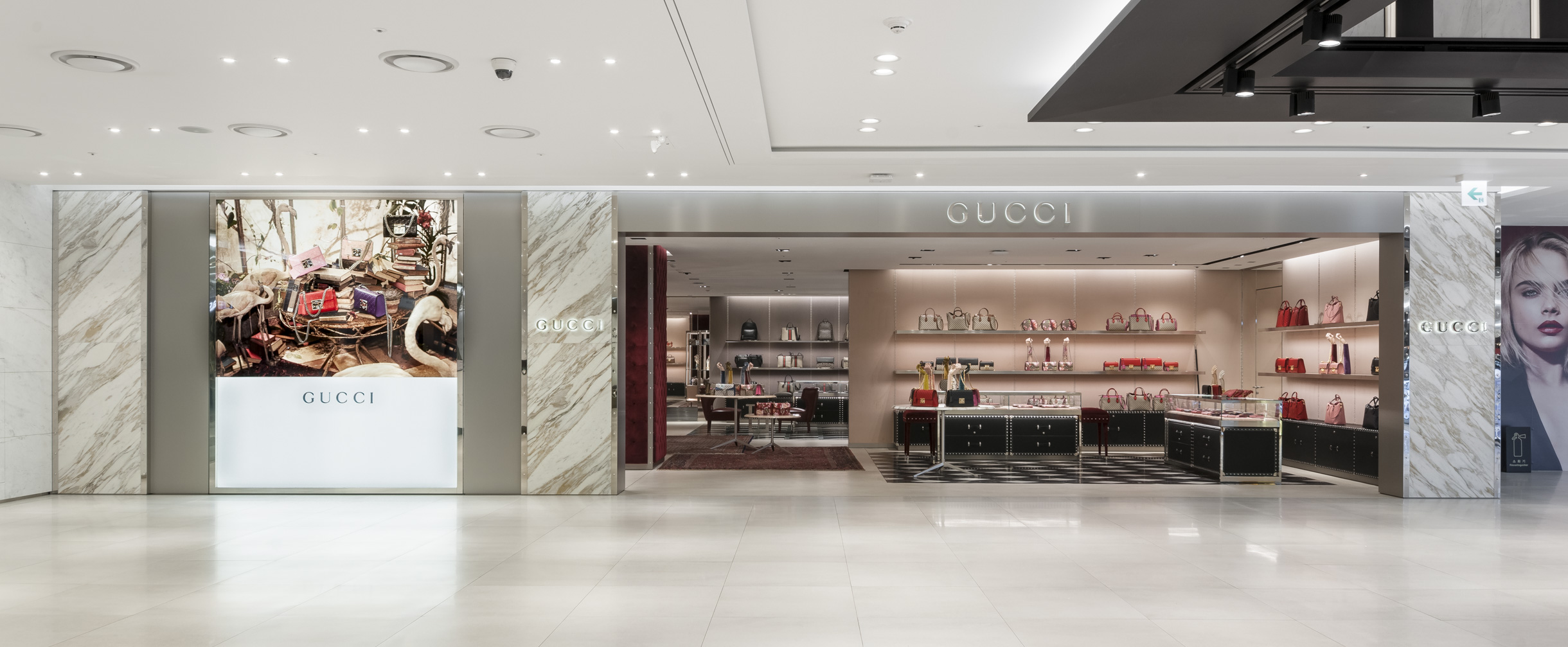 gucci store interior 2016. gucci @ building 63. luxury retail gucci store interior 2016