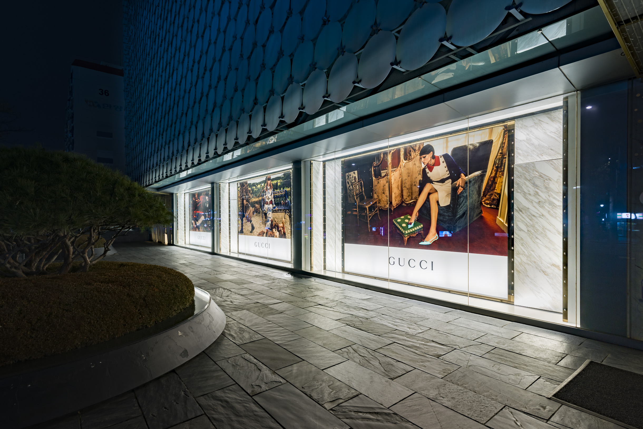 Gucci shop at Galleria in Seoul
